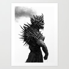 The Cursed King Art Print