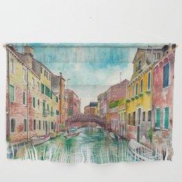 Venezia Watercolor Wall Hanging