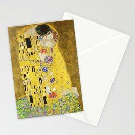 Gustav Klimt  - The Kiss -  Art Nouveau Stationery Cards