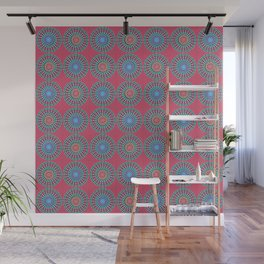 Spinners Pattern Wall Mural