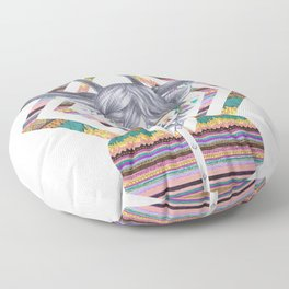 DREAMTAPES, created by Elena Mir and Kris Tate Floor Pillow