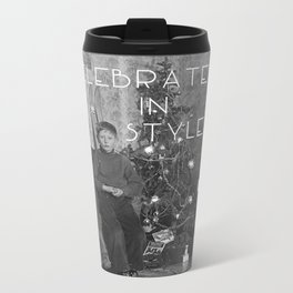 Celebrate in Style Metal Travel Mug