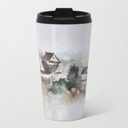 Japanese ancient city in fogging day Travel Mug