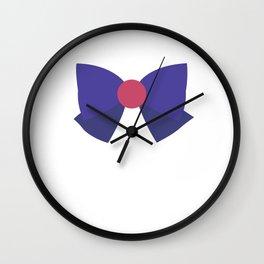 Sailor Mars Bow Wall Clock