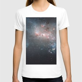 Starburst - Captured by Hubble Telescope T-shirt