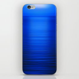 Sunset on the Water-Deep Blue iPhone Skin