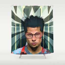 The Wonders of Edward's imagination Shower Curtain