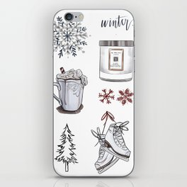 Winter Wishes iPhone Skin