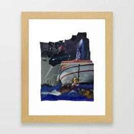 sleepyhead. Framed Art Print