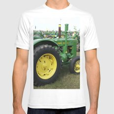 Sea of Green Mens Fitted Tee White MEDIUM