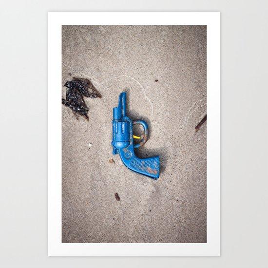 Dead Horse Gun Art Print