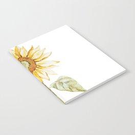 Sunflower 01 Notebook