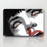 mia wallace iPad Cases featuring There goes mrs. Mia Wallace by The Headless Fish