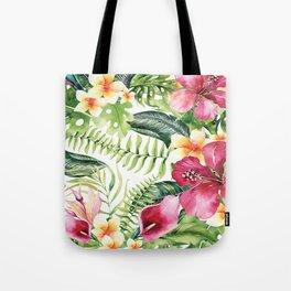 Tropical Botanical Tote Bag