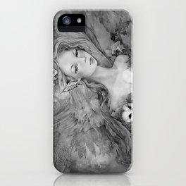 Titania's Daughter, Greytone iPhone Case