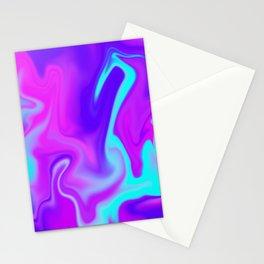 Neon Tye Dye Stationery Cards