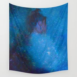 Lady Galaxy Wall Tapestry