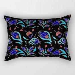 Turkish tulip pattern 9 Rectangular Pillow