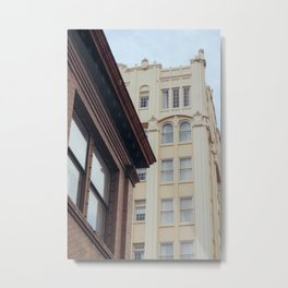 Downtown Architecture - Ashland, OR Metal Print
