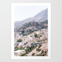 Village in Crete, Greece   Fine Art Travel Photography Print Art Print