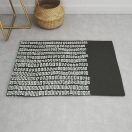 White Bricks Rug