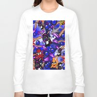 scuba Long Sleeve T-shirts featuring Scuba by Mark Greulach