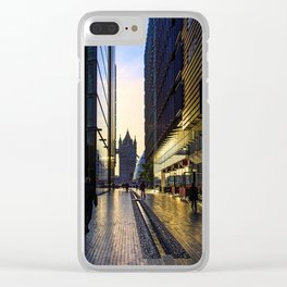 Sunrise on the South Bank Clear iPhone Case