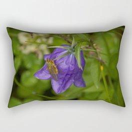 Bluebell Photography Print Rectangular Pillow