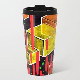Cubes Metal Travel Mug
