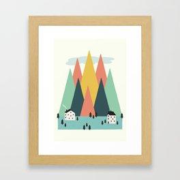 The High Mountains Framed Art Print