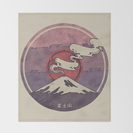 Fuji Throw Blanket