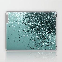 Teal Mermaid Ocean Glitter #1 #shiny #decor #art #society6 Laptop & iPad Skin