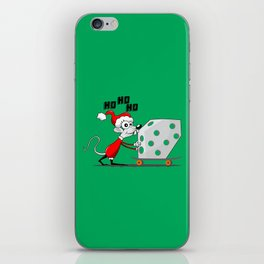 MOUSE CHRISTMAS iPhone Skin