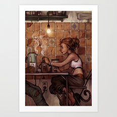 Cafe Presse Art Print