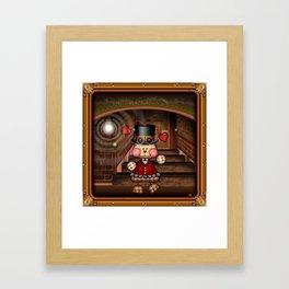 Steam Punkie Framed Art Print