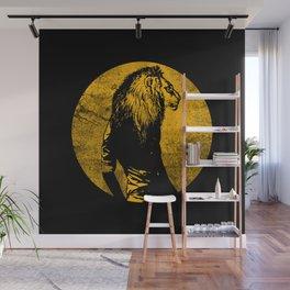 Lion Man Wall Mural