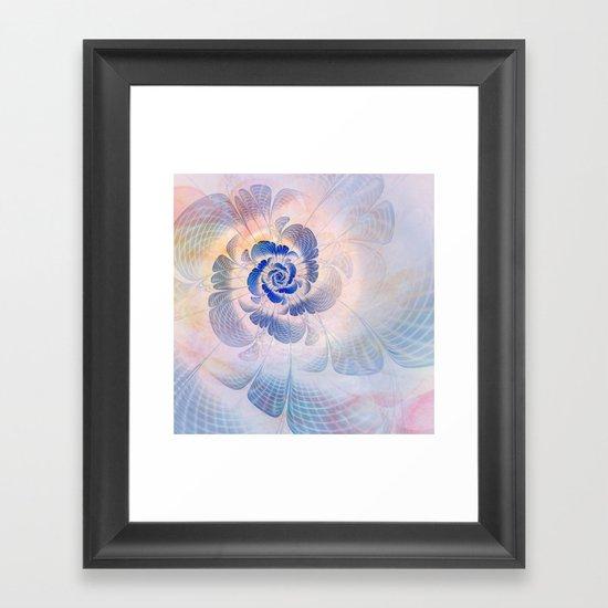 Floral Impression Framed Art Print