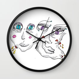 Pimple Pals Wall Clock