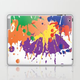 Colourful Paint splash Laptop & iPad Skin