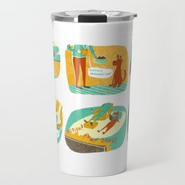 Day in the Life of Pup Travel Mug