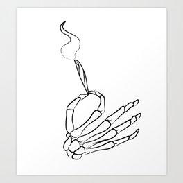 Smokeyboi Art Print