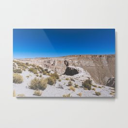 Over the Edges of the Atacama Desert, Bolivia Metal Print