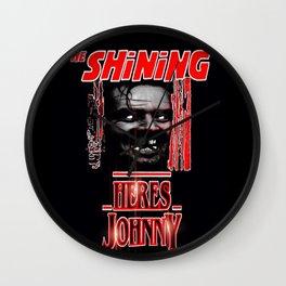 The Shining Here's Johnny Wall Clock