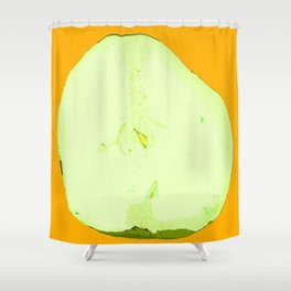 Pear Twin One Shower Curtain