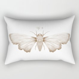 Scale Moth Rectangular Pillow