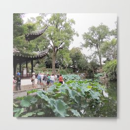 Shanghai Liu Garden | Jardin Liu Metal Print