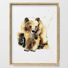 Brown Bear Serving Tray