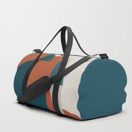 Geometric Roots 1 Duffle Bag