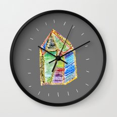 mystery of childhood. Wall Clock