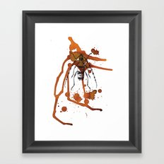 Insect in Ink 01 Framed Art Print